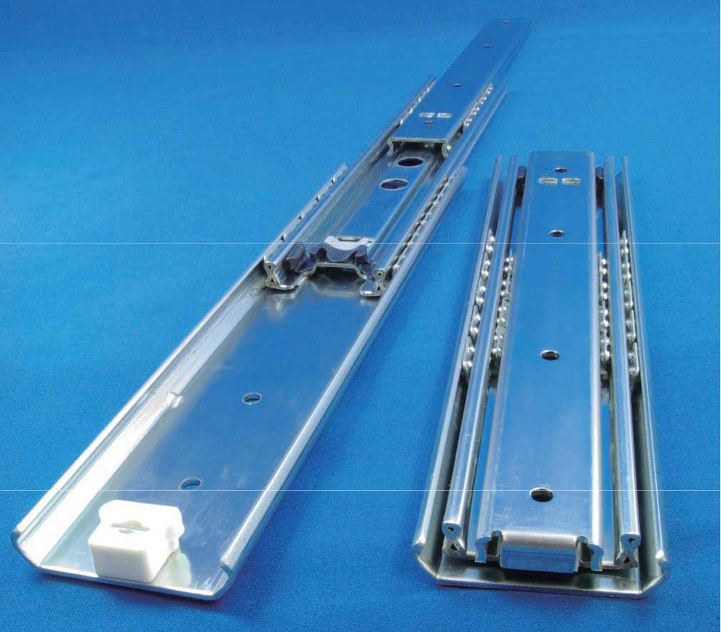 重量用(耐荷重約800N~1,300N)オーバートラベルスライドレール C630